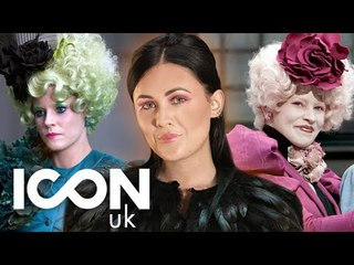 Effie Trinket Hunger Games Makeup Tutorial | LoveLaughAndMakeup