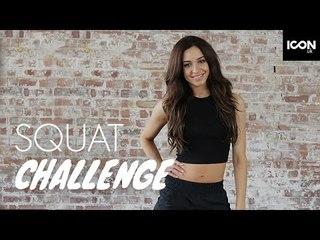 Workout: Squat Challenge | Danielle Peazer