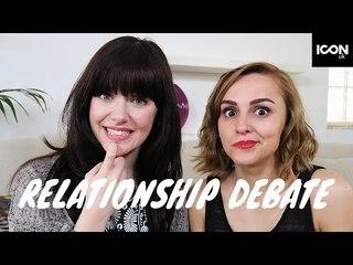 Relationship Advice Debate | Melanie Murphy & Hannah Witton