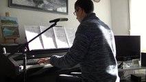 Alain Chamfort et J-Noel Chaleat/Serge Gainsbourg-Manureva (reprise piano-voix)