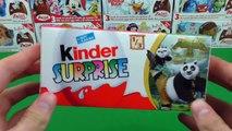 Kung Fu Panda 3 Kinder Surprise Eggs Unboxing - Kung Fu Panda Movie Surprise Toys