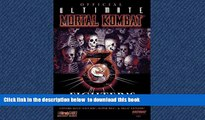 Buy NOW BradyGames Official Ultimate Mortal Kombat 3 Fighter s Kompanion (Official Strategy