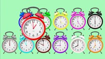 Learn Colors and Clock Time - Fun Learning Colors And Clock Time In English For Kids