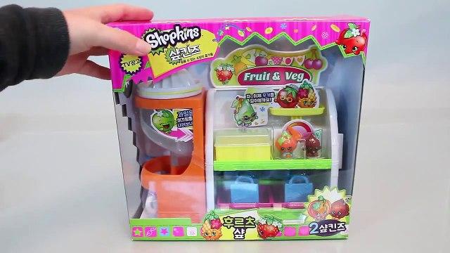 Mundial de Juguetes & Shopkins Fruit Veg Market Shop Playset Toys