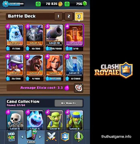 [Clash Royale] The Hog Rider Deck to Legend Arena