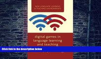 Download Hayo Reinders Digital Games in Language Learning and Teaching (New Language Learning and