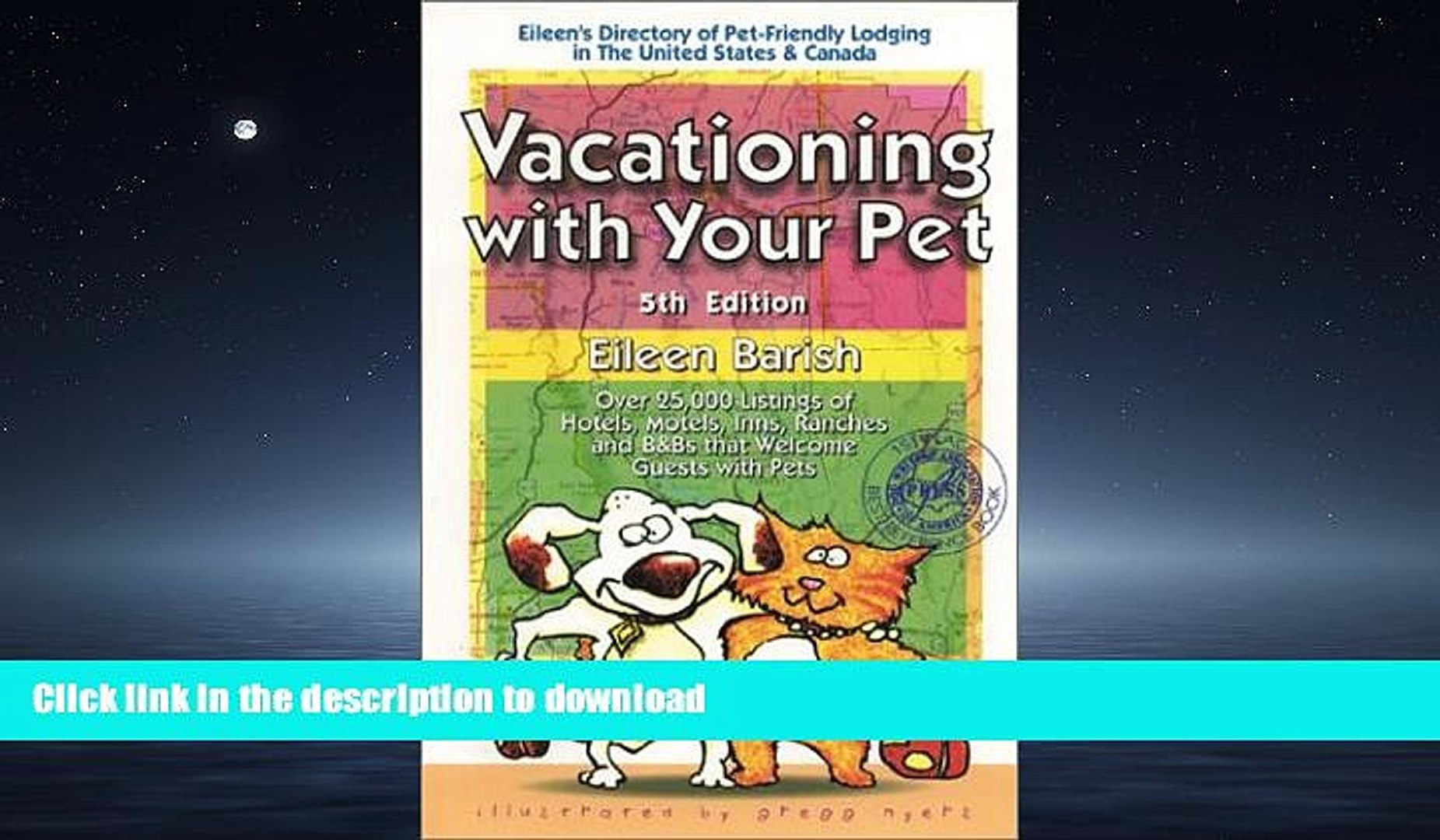 READ  Vacationing With Your Pet: Eileen s Directory of Pet-Friendly Lodging in the United