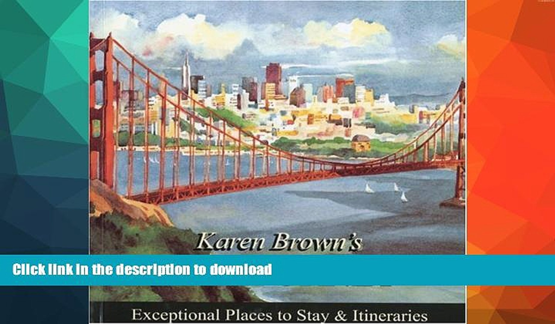 READ  Karen Brown s California 2010: Exceptional Places to Stay   Itineraries (Karen Brown s