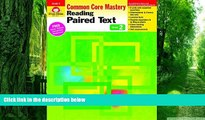 Pre Order Reading Paired Text, Grade 2 (Reading Paired Text: Common Core Mastery) Evan Moor