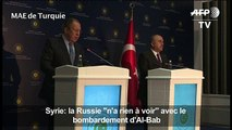 Syrie: La Russie «n'a rien à voir» avec le bombardement d'Al-Bab