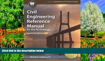 Online Michael  R. Lindeburg PE Civil Engineering Reference Manual for the PE Exam, 14th Ed Full