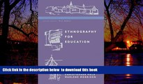 Buy Christopher Pole Ethnography for Education (Doing Qualitative Research in Educational