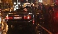 Erdal Tosun trafik kazasında yaşamını yitirdi... İşte kaza sonrası görüntüler