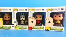 Charlie Brown Toys Funko Pop Peanuts Movie Toys new with Snoopy & Lucy
