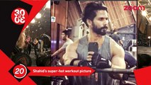 Shahid Kapoor Shares His Super Hot Work Out Pictures, Salman & Iulia Party With Kareena & Saif