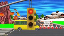 Red light, Red light What Do You Say || 3D Animation Nursery Rhyme