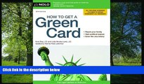 FAVORIT BOOK How to Get a Green Card Ilona Bray J.D. [DOWNLOAD] ONLINE