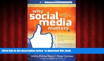 Epub Why Social Media Matters: School Communication in the Digital Age Kitty Porterfield Book
