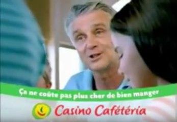 """Aimé Jacquet - Pub Casino Cafétéria """"Ca ne coûte pas plus cher de bien manger"""""""