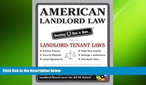 READ THE NEW BOOK American Landlord Law: Everything U Need to Know About Landlord-Tenant Laws