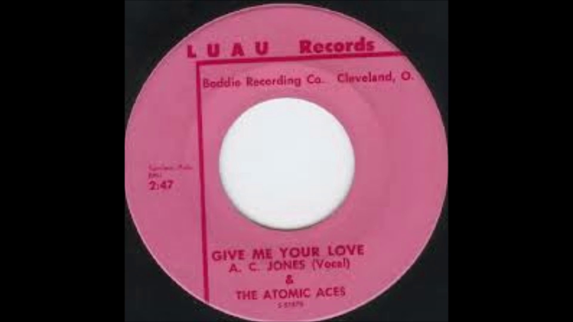 A. C. Jones & the Atomic Aces - Give me your love ((Stereo))