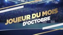 Drouhin élu Joueur du Mois d'Octobre de Lidl Starligue