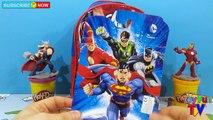 Avengers Assemble Backpack Surprise Toys Batman Superman Star Wars Hulk Marvel Surprise Eggs