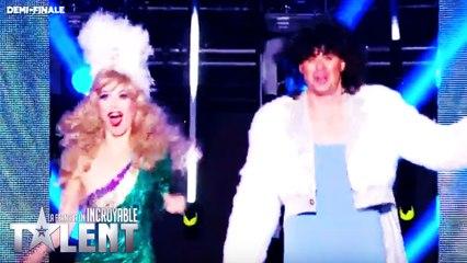 Peter et Bambi-France's Got Talent 2016 - Week 6