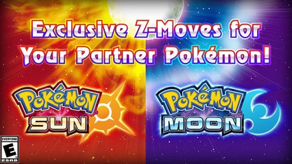 Pokémon Soleil et Lune : Exclusive Starter Pokémon Z-Moves and More Ultra Beasts Coming to Pokémon Sun and Pokémon Moon!