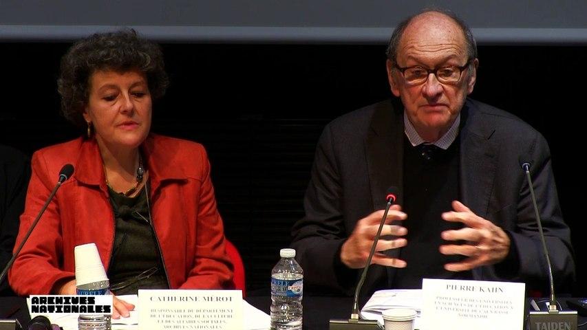 Philippe Joutard : Conclusion des travaux et perspectives de recherche