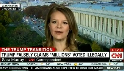 TRUMP FALSELY CLAIMS ''MILLION'' VOTED ILLEGALLY ON CNN Breaking News