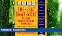 Best Price Gre-Lsat-Gmat-McAt Reading Comprehension Workbook (1st ed) Mark Alan Stewart On Audio
