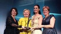 Hillary Clinton surprises Katy Perry at UNICEF Gala