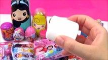 Disney Princess Surprise Toys Nesting Dolls! Disney Stacking Cups Kids Kinder Fun Toys Video