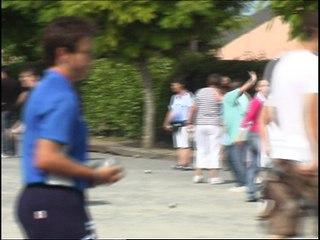 Pétanque féminine à Soustons