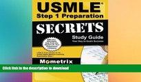 FAVORIT BOOK USMLE Step 1 Preparation Secrets Study Guide: USMLE Exam Review for the United States