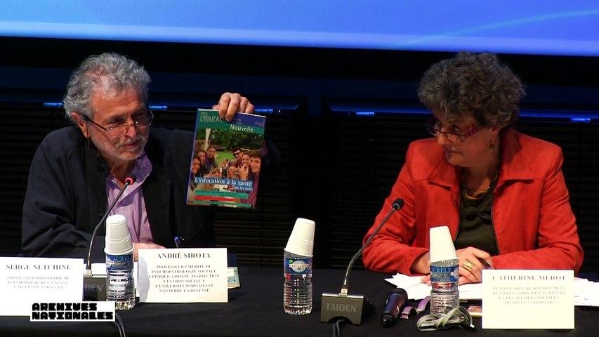 André Sirota : Un penseur de référence pour l'Éducation Nouvelle