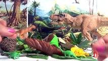 JURASSIC World Play-Doh é Oeufs de Dinosaures Surprises | T-Rex et autres dino !