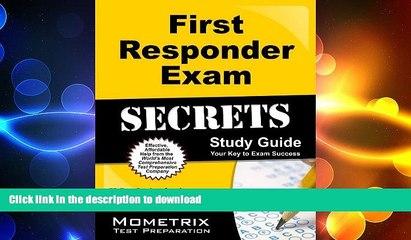 FAVORIT BOOK First Responder Exam Secrets Study Guide: FR Test Review for the First Responder Exam