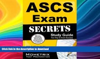 FAVORIT BOOK ASCS Exam Secrets Study Guide: ASCS Test Review for the Air Systems Cleaning