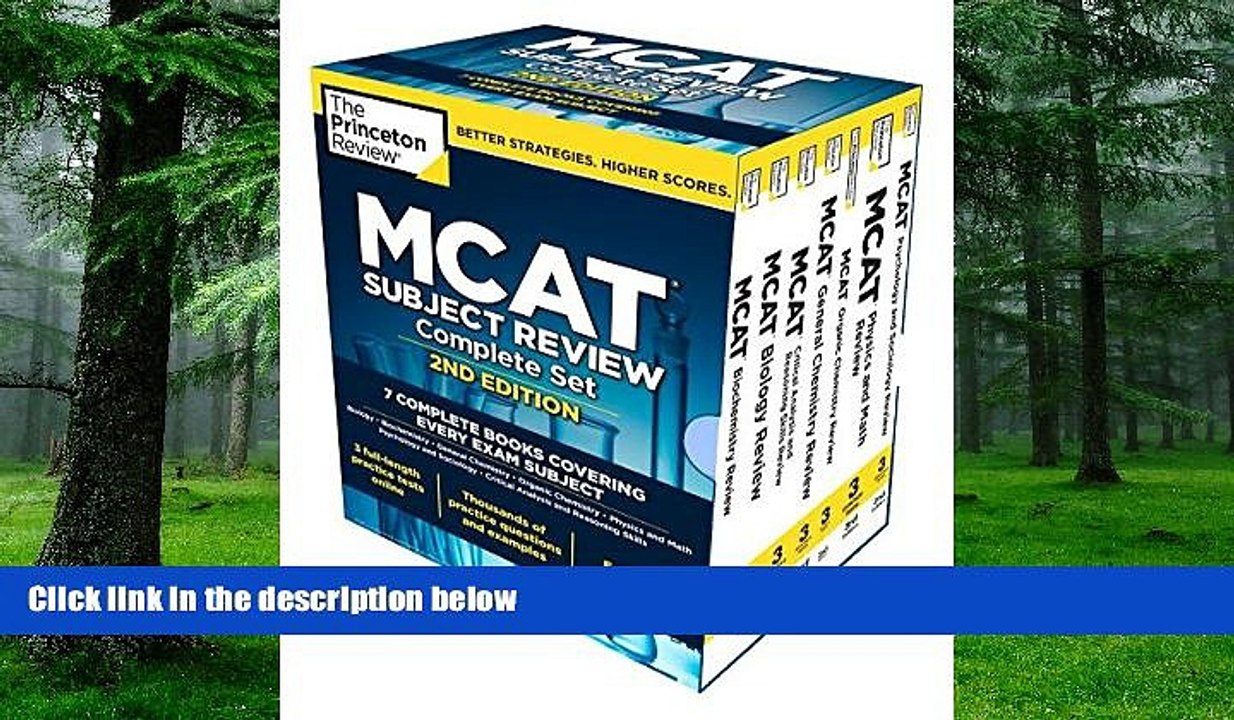 PDF Princeton Review Princeton Review MCAT Subject Review Complete Box Set,  2nd Edition: 7