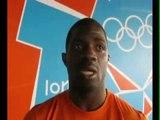 Interview de Koné Roméo, judoka ivoirien aux Jeux Olympiques de Londres 2012