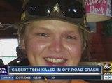 Family identifies teen killed in off-road crash as Cameron Kay