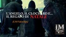 L'ANGELO, IL CLOCHARD E... IL REGALO DI NATALE   (LM VideoClips)