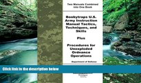 Read Online Department of Defense Boobytraps U.S. Army Instruction Manual Tactics, Techniques, and
