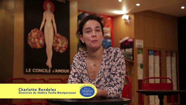 Charlotte Rondelez, co-directrice du théâtre de Poche-Montparnasse