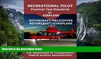 Read Online FAA Recreational Pilot Practical Test Standards for Airplane Rotorcraft Helicopter