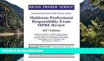 Online Mr. James J. Rigos Rigos Primer Series Uniform Bar Exam (UBE) Review Multistate