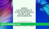 Pre Order 100% Contract Law Writing For Law Students  100% Contract Law Writing For Law Students