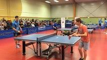 Démonstration du Caen tennis de table club